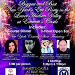 Rockland County New Year's Eve Comedy Show and Dinner, Emmett's Castle at Blue Hill