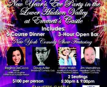 New Year's Eve 2012 in Rockland County With Comedy Show